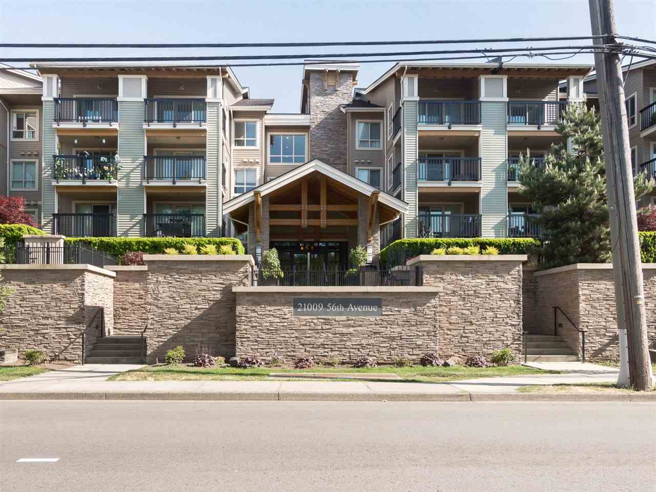 312 21009 56 AVENUE, 2 bed, 2 bath, at $434,998